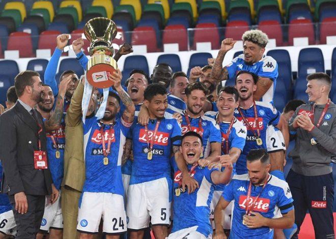 Napoli beat Juventus to win Coppa Italia