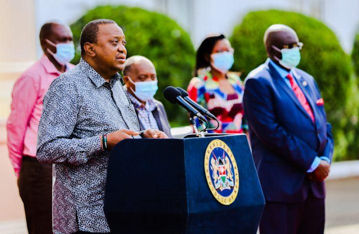 The Eighth Kenya's Presidential address on the Coronavirus pandemic at State House, Nairobi, Saturday 6th June 2020.