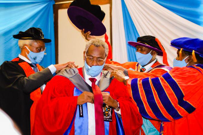 Prof. Kiama Installed 8th Vice Chancellor of University of Nairobi