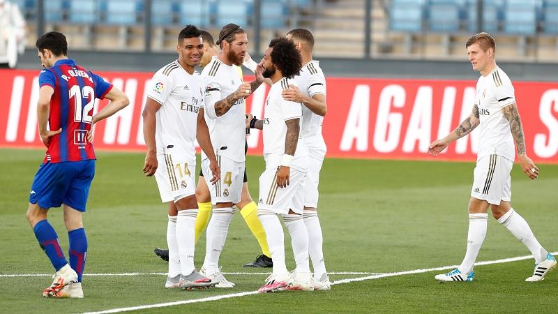 Madrid beat Eibar 3-1