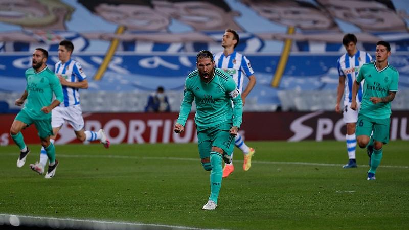 Real Madrid beat Real Sociedad