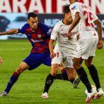 Sevilla hold Barcelona to barren draw that opens the La Liga title race