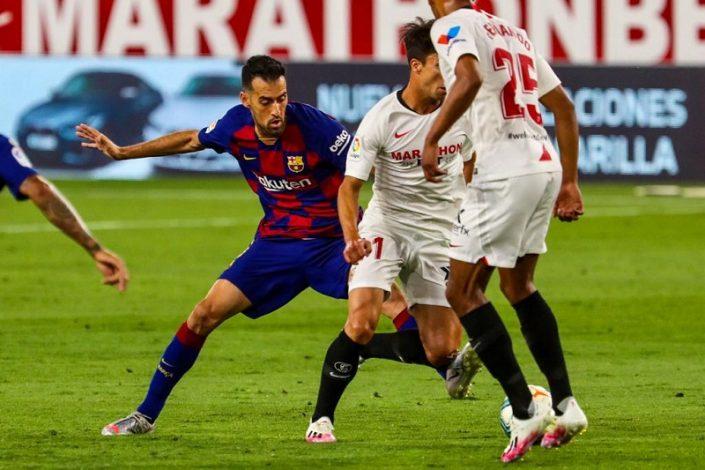 Sevilla 0 - Barca 0