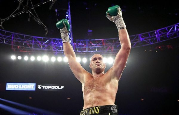 Tyson Fury has branded himself as the best heavyweight boxer of the last thousand years.