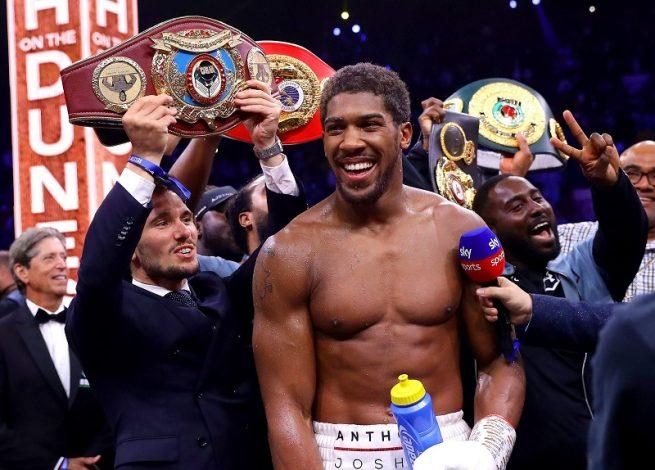 Former Champion Bernard Hopkins believes AJ has the edge to beat Fury