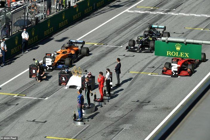 Valterri Bottas wins the first race of the new Formula One season