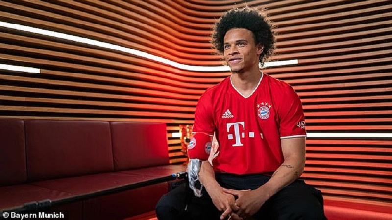 Bayern Munich signs Sane