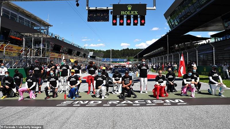 Valtteri Bottas set to win Austrian Grand Prix with Hamilton in fourth.