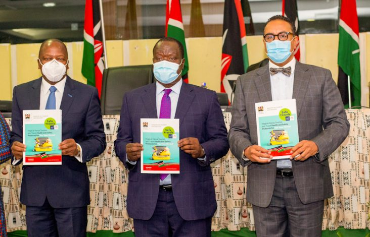 Kenya receives World Travel and Tourism Council Safe Travel Stamp