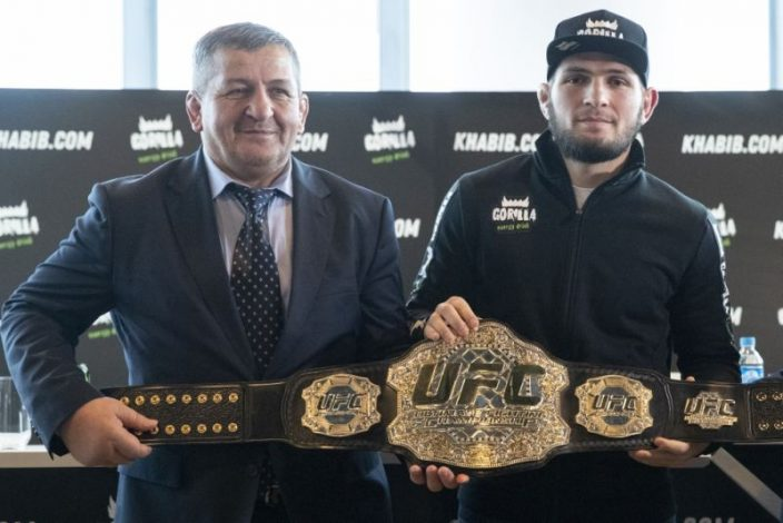 Khabib Nurmagomedov's father has died in hospital after complications.