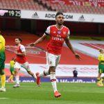 Pierre-Emerick Aubameyang voted Arsenal's Player of the Season