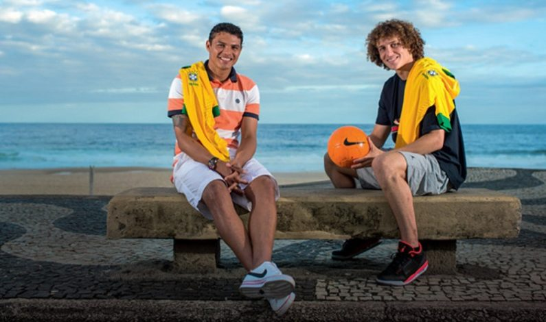 Brazilian duo of Thiago Silva and David Luiz