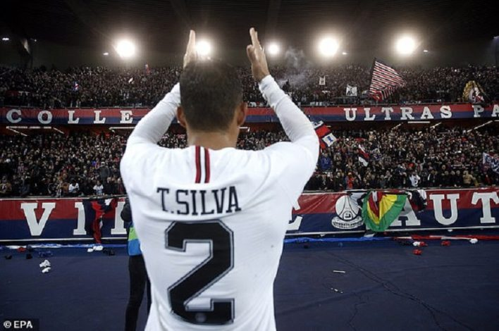 PSG and Brazilian defender