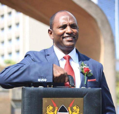 Treasury CS Ukur Yatani to unveil Ksh3.6 trillion budget on Thursday