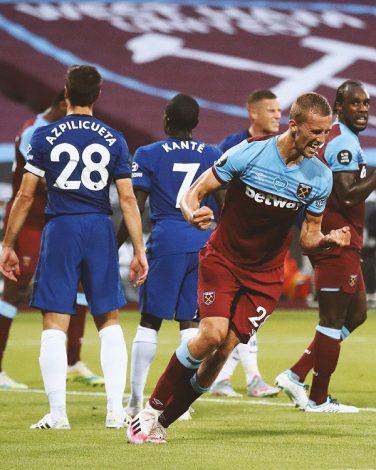 Westham 3 - Chelsea 2