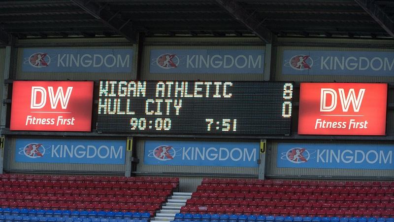 Wigan 8- Hull 0