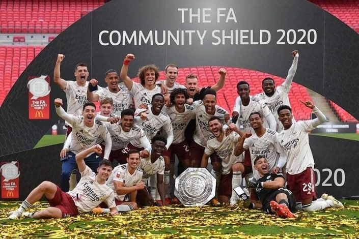 Arsenal beat Liverpool on penalties to lift the Community Shield