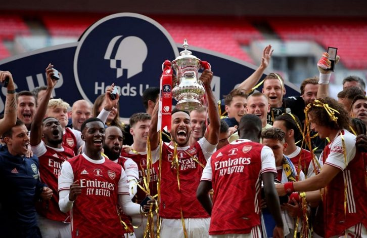 FA Cup: Arsenal are FA Cup Winners 2020