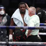 Boxing: Dillian Whyte given 28-day medical suspension after suffering stunning KO by Alexander Povetkin