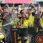 Football: Harrogate Town promoted to Football League for FIRST time ever