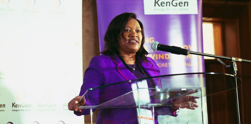 KenGen has been focusing on the production of green energy and currently more than 86 percent of the energy produced by the company is from clean sources namely wind, hydro and geothermal.