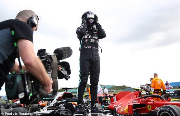 Lewis Hamilton wins British GP in a record SEVENTH victory