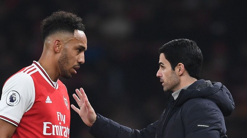 Mikel Arteta CONFIDENT Aubameyang will stay at Arsenal