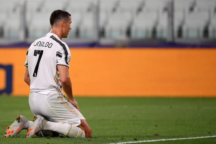 Juventus knocked out of Champions League by Lyon