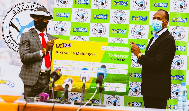 Sofapaka Lands Two Year KSh77 million sponsorship Contract from Betika