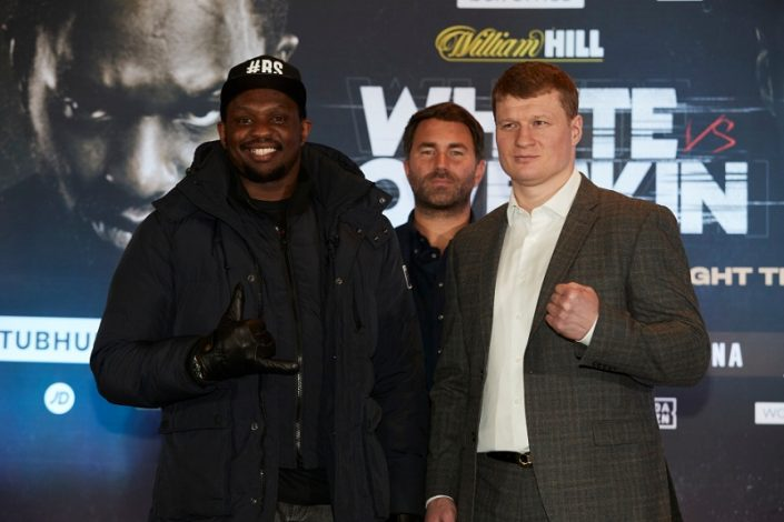 Dillian Whye and Alexander Povetkin promise 'fireworks' on Saturday