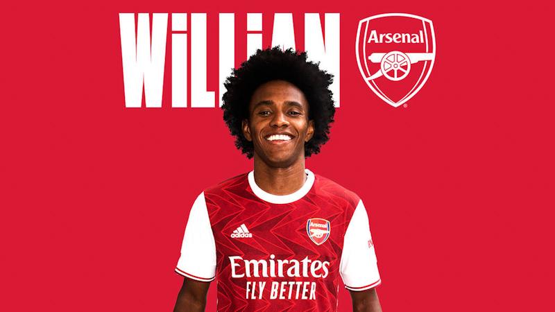 Chelsea Midfielder Willian Borges da Silva Joins Arsenal on Free Transfer