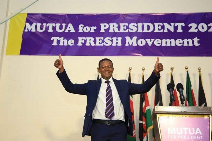 Dr. Alfred Mutua launches 2022 Presidential bid