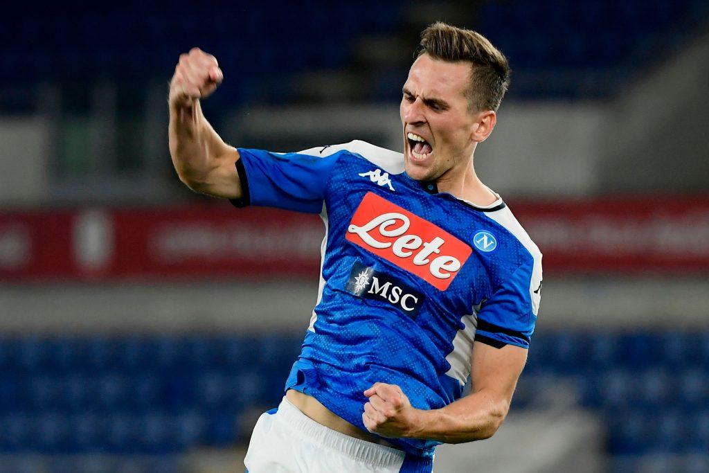 Tottenham make contact with Napoli's forward Arkadiusz Milik's agent for potential move