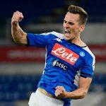 Transfer Talk: Tottenham make contact with Napoli's forward Arkadiusz Milik's agent for potential move