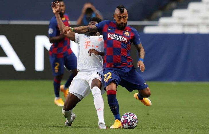 Vidal in talks with Barcelona to terminate his contract as he eyes move to Inter Milan.