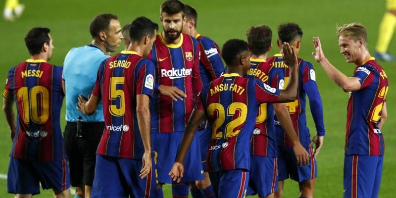 Barcelona thrash Villareal 4-0 as Ronald Koeman's begins charge at the Nou Camp