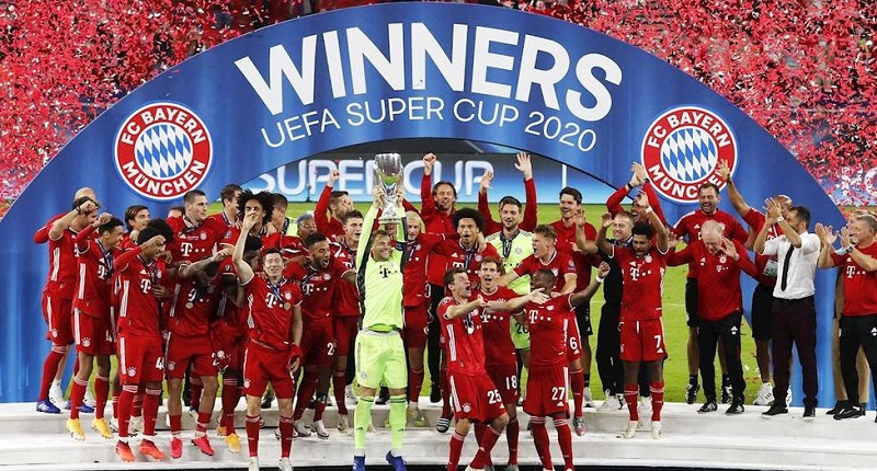 Bayern Munich beat Sevila in extra-time to win the UEFA Super Cup.