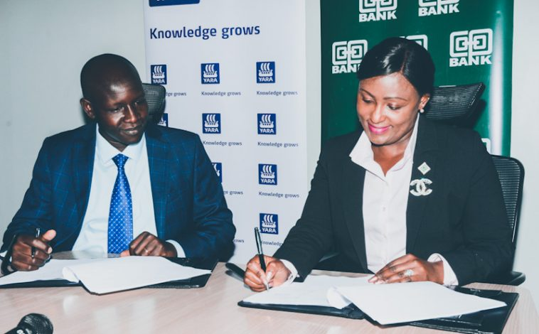 Co-op Bank Inks 5-year Deal With Yara East Africa to Distribute Fertiliser