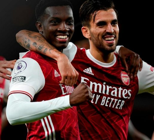 Eddie Nketiah strikes late to give Arsenal win over West Ham