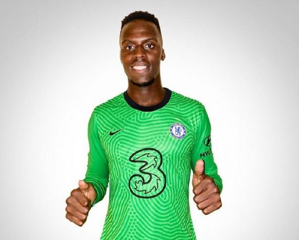 Chelsea unveil Edouard Mendy as their seventh signing of the summer