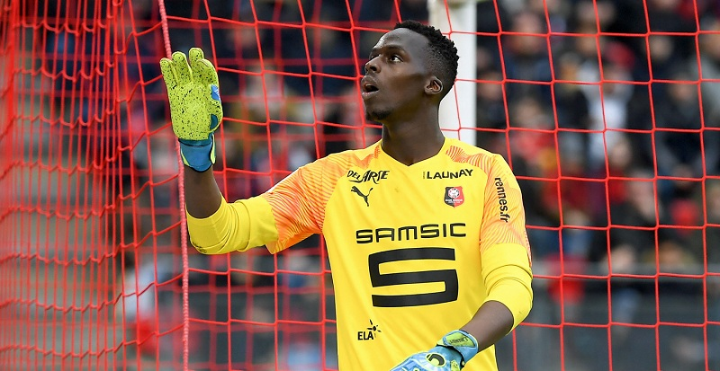 Chelsea agree five-year deal with Renees goalkeeper Edouard Mendy