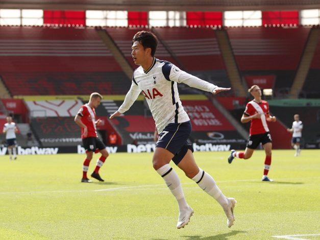 Heung-Min Son scores four as Tottenham thrash Southampton 5-2