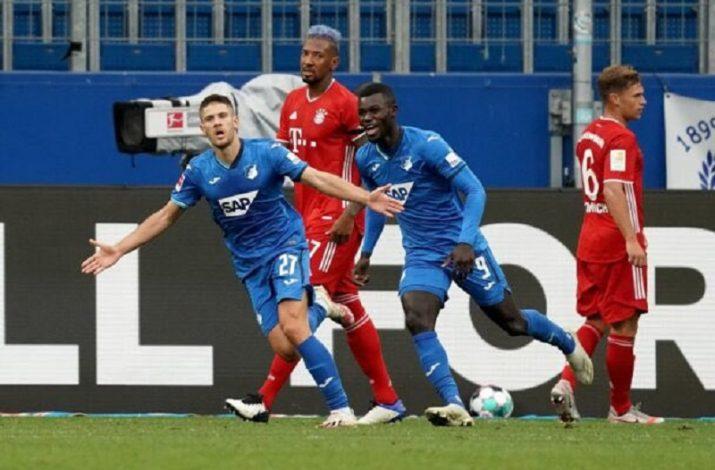 Bayern Munich suffer shocking 4-1 away to Hoffenheim