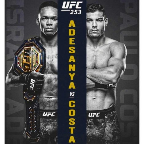 UFC 253 set to light up as Israel Adesanya takes on Paulo Costa