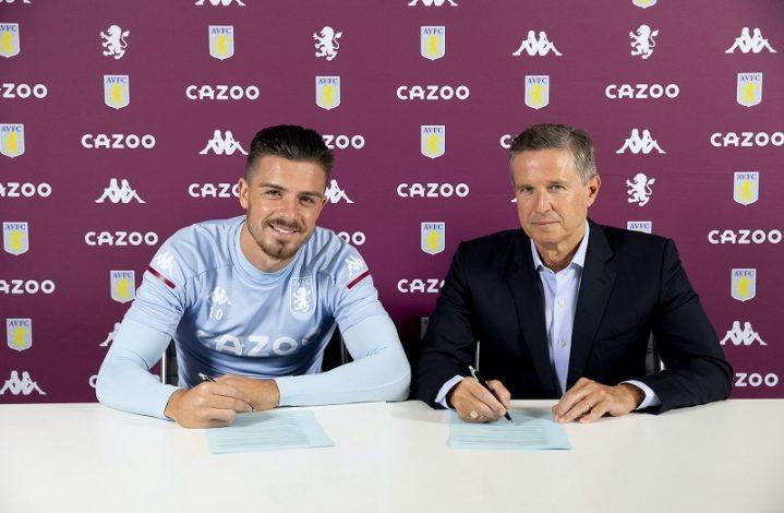 Jack Grealish signs new five-year deal at Aston Villa