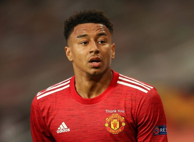 Tottenham considering a move for Jesse Lingard from Manchester United