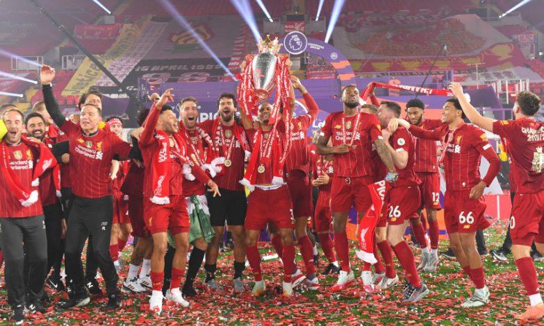 Liverpool won the 2019/20 Premier League title