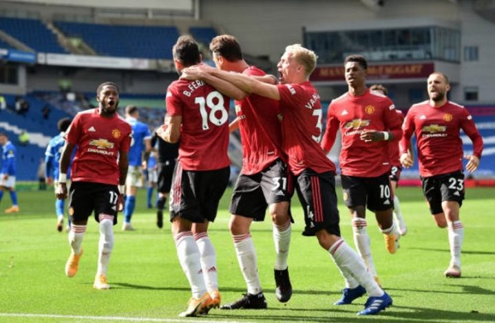 Incredible drama as Man United beat Brighton after final whistle had been blown