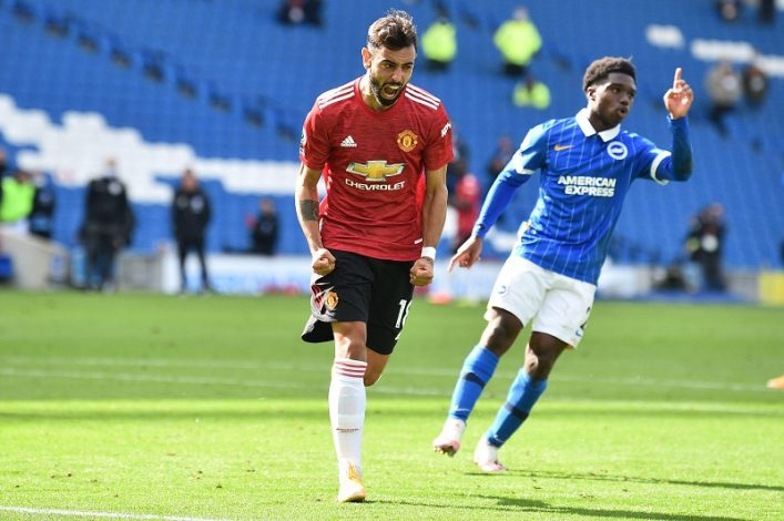 Incredible drama as Man United beat Brighton after final whistle had been blown. Drama at the Amex Stadium saw Manchester United earn a 3-2 win over Brighton in the 99th minute.