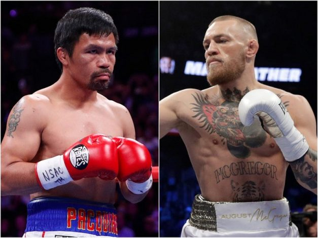 Manny Pacquiao set to take on Conor McGregor in 2021